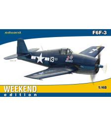 1:48 Американски палубен самолет F6F-3