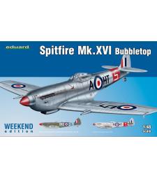 1:48 Британски изтребител Спитфайър Мк.XVI (Spitfire Mk.XVI Bubbletop)