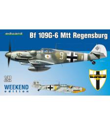 1:48 Германски изтребител Месершмит Бф 109Г-6 Регенсбург (Bf 109G-6 MTT Regensburg)