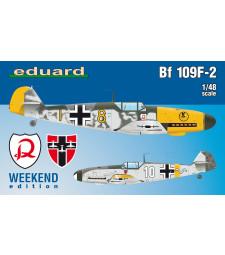 1:48 Германски изтребител Месершмит Бф 109Ф-2 (Bf 109F-2)