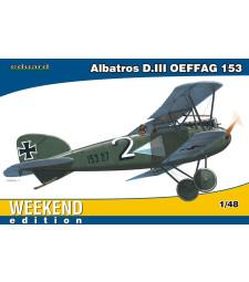 1:48 Германски биплан Albatros D.III OEFFAG 153