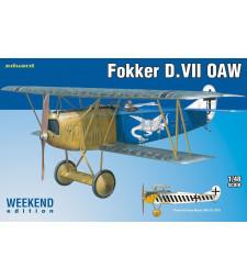 1:48 Германски самолет Fokker D.VII OAW
