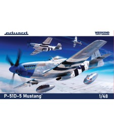 1:48 Американски изтребител от Втората световна война P-51D-5