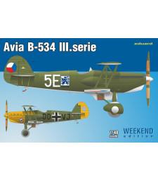 1:48 Чехословашки изтребител-биплан Avia B-534 III.serie