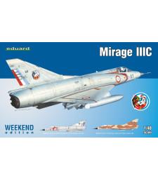 1:48 Френски свръхзвуков изтребител Мираж IIIС (Mirage IIIC)