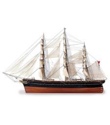 """1:84 Клипер """"Къти Сарк"""" (Cutty Sark Tea Clipper) - Модел на кораб от дърво"""