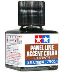 Смивка за подчертаване на детайли (Кафяв цвят) - 40ml