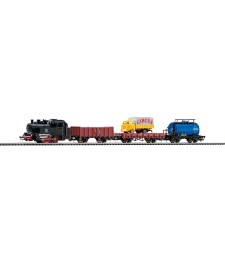 Стартов сет с парен локомотив и 3 вагона, епоха III