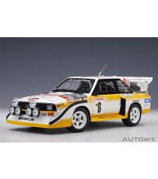 Audi Sport Quattro S1 1986 Rallye Monte Carlo Hannu MIKKOLA / Arne HERTZ