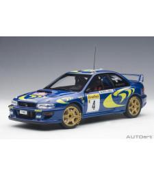 Subaru Impreza WRC Rally of Monte Carlo 1997 P.Liatti/F.Pons #4