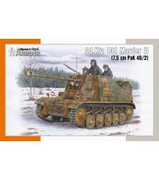 1:72 Германски унищожител на танкове Sd.Kfz 131 Marder II (7.5 cm PaK 40/2)