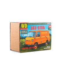 ZAZ-970B van - Die-cast Model Kit