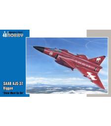 "1:48 Самолет SAAB AJS-37 Viggen ""Show must go on"""