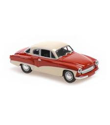 WARTBURG A 311 COUPE - 1958 - RED/WHITE – MAXICHAMPS