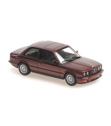BMW 3-SERIES (E30) - 1989 - RED METALLIC - MAXICHAMPS