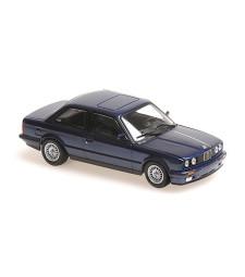 BMW 3-SERIES (E30) - 1989 - BLUE METALLIC - MAXICHAMPS