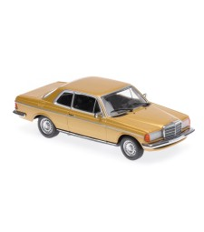 MERCEDES-BENZ (W123) 230CE - 1976 - GOLD METALLIC - MAXICHAMPS