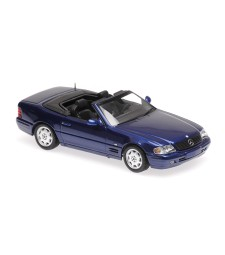 MERCEDES-BENZ SL - 1999 - BLUEMETALLIC - MAXICHAMPS