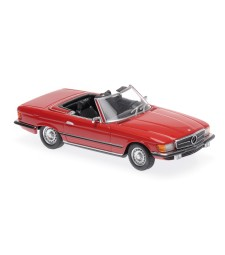 MERCEDES-BENZ 350 SL - 1974 - RED - MAXICHAMPS