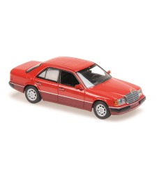 MERCEDES-BENZ 230E - 1991 - RED