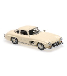 MERCEDES-BENZ 300 SL (W198 I) - 1955 - CREAM - MAXICHAMPS