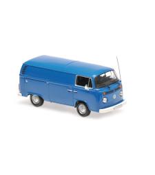 VOLKSWAGEN T2 DELIVERY VAN - 1972 - BLUE - MAXICHAMPS