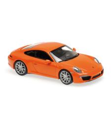 PORSCHE 911 S - 2012 - ORANGE - MAXICHAMPS