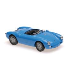 PORSCHE 550 SPYDER - 1955 - BLUE - MAXICHAMPS