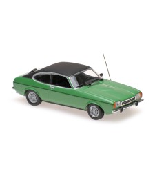 FORD CAPRI II - 1974 - GREEN METALLIC - MAXICHAMPS