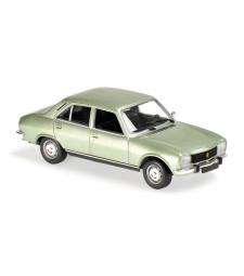 PEUGEOT 504 - 1970 - LIGHT GREEN METALLIC - MAXICHAMPS