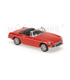 MGB CABRIOLET - 1962 - RED  - MAXICHAMPS