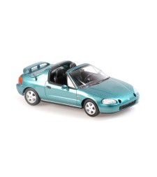 HONDA CIVIC DEL SOL - 1992 - GREEN METALLIC - MAXICHAMPS