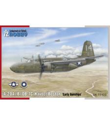 1:72 Американски самолет A-20B/C Havoc 'Gunships'