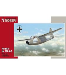 1:72 Турбореактивен самолет Heinkel He 178 V-2
