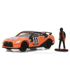 2011 Nissan GT-R (R35) with Race Car Driver Solid Pack - The Hobby Shop Series 3