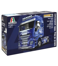1:24 Камион влекач ИВЕКО ХАЙ-УЕЙ, 40-та годишнина (IVECO HI-WAY 40th ANNIVERS. Show Truck)