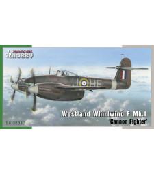 1:32 Британски двумоторен тежък изтребител Westland Whirlwind Mk.I 'Cannon Fighter'