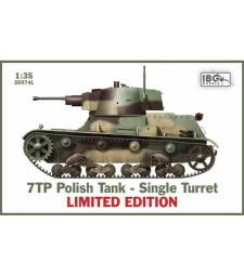 1:35 7TP Полски танк с единичен купол, лимитирано издание