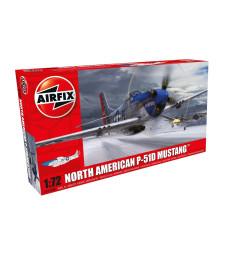 1:72 Американски изтребител North American P-51D Mustang - New livery