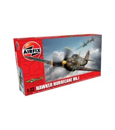 1:72 Британски изтребител Hawker Hurricane MkI
