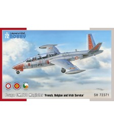 "1:72 Самолет Fouga CM.170 Magister ""French, Belgian and Irish Service"" - френска, белгийска и ирландска служба"