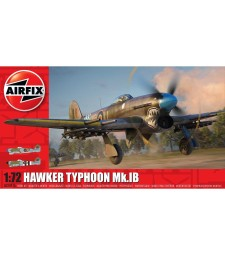 1:72 Британски изтребител Hawker Typhoon Ib