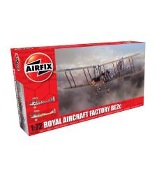 1:72 Британски разузнавателен биплан Royal Aircraft Factory BE2c Scout