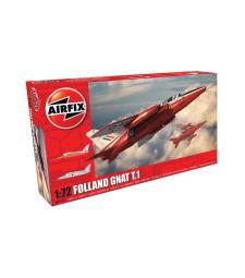 1:72 Лек реактивен самолет Folland Gnat T.1