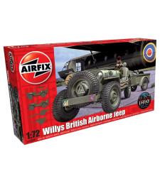 1:72 Американски джип Willys British Airborne Jeep