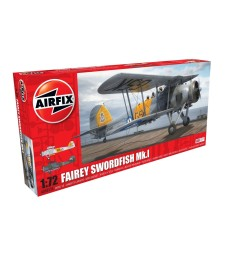 1:72 Британски самолет Fairey Swordfish Mk.I - New livery
