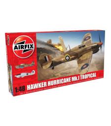 1:48 Британски изтребител Hawker Hurricane Mk.I - Tropical