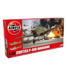 1:48 Американски изтребител Curtiss P-40B Warhawk