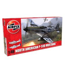1:48 Американски изтребител North American P51-D Mustang - New tool