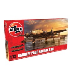 1:72 Британски бомбардировач Handley Page Halifax B MkIII